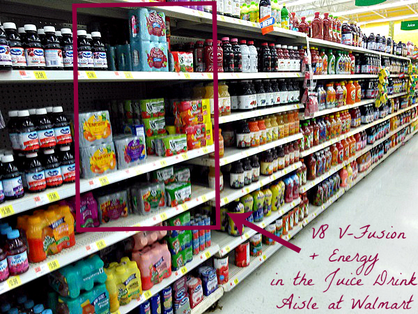 Juice Drink Aisle
