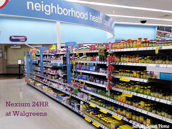 Nexium 24 HR at Walgreens