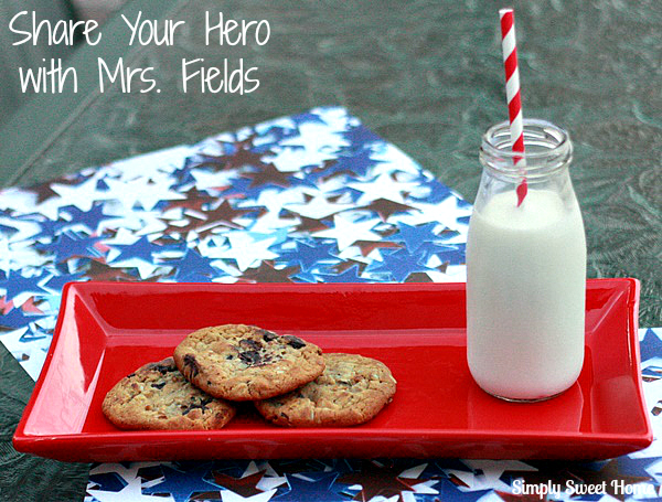 Share Your Hero with Mrs. Fields