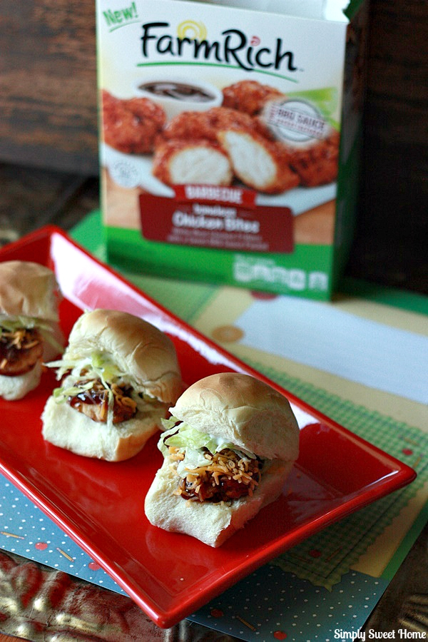 BBQ Chicken Sliders