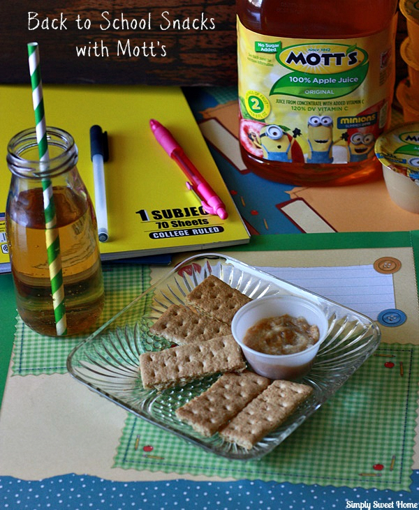 Back to School Snacks with Motts