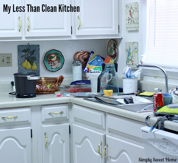 Uncleaned Kitchen
