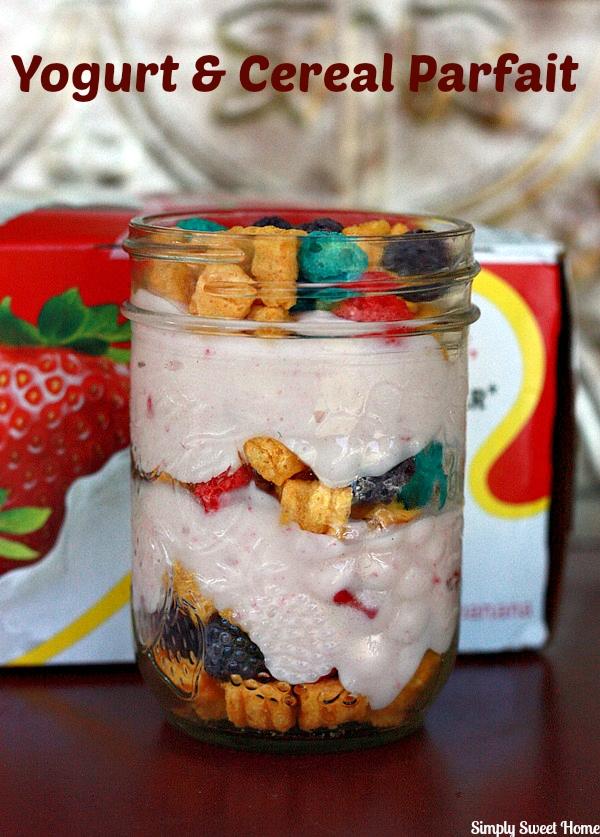 Yogurt & Cereal Parfait