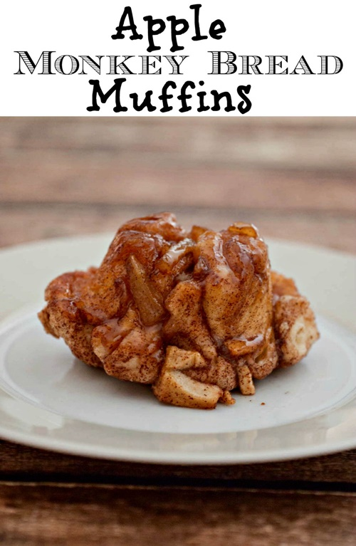 Apple Monkey Bread Muffins