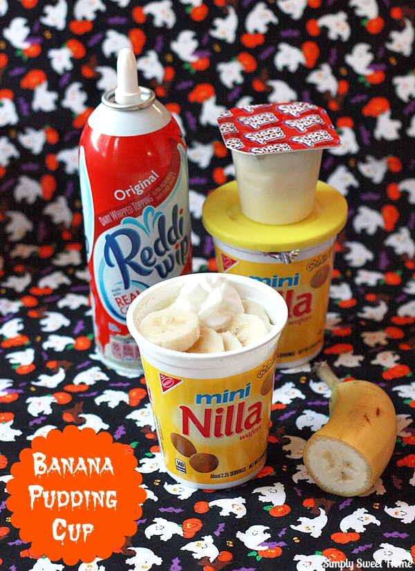 Banana Puddng Cups