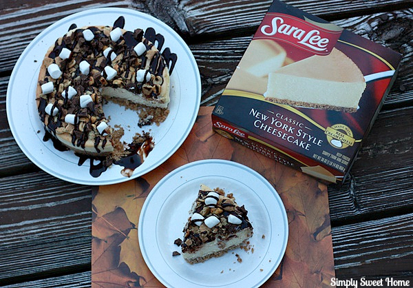 Rocky Road S'mores Cheesecake