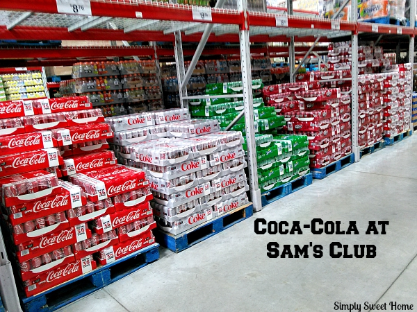 Coca-Cola at Sams Club