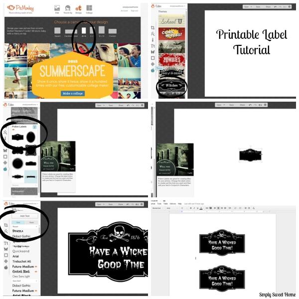 Printable Label Tutorial