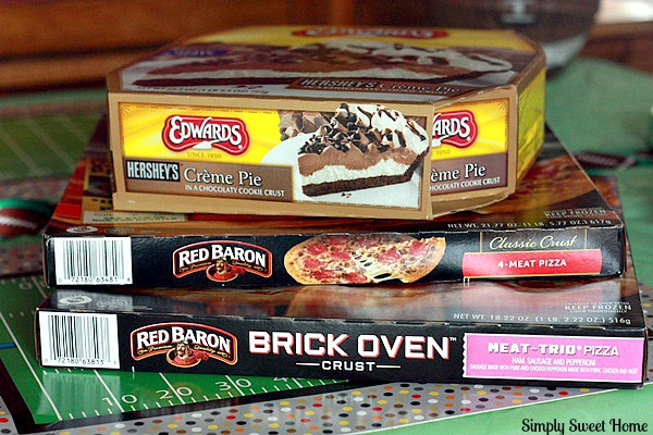 Red Baron Pizza and Edwards Pies
