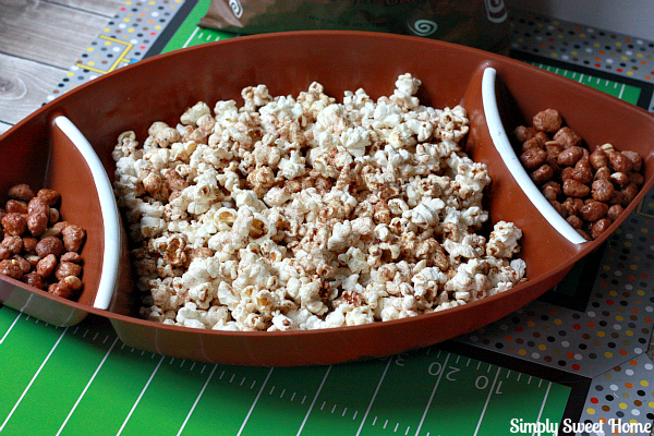 Cinnamon Popcorn and Peanuts