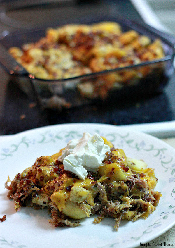 Pork Potato Casserole