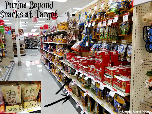 Purina Beyond Snacks at Target