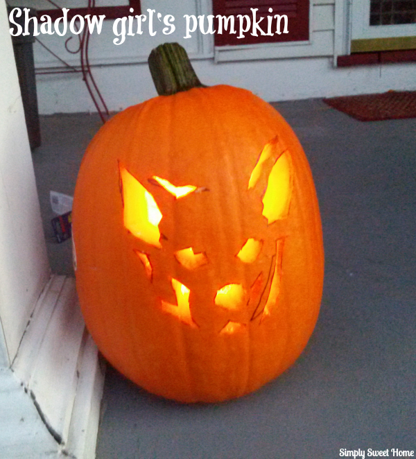 Shadow Girl's Pumpkin