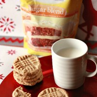 Peanut Butter Cookies + SPLENDA® SWEET SWAPS™ and a Giveaway!