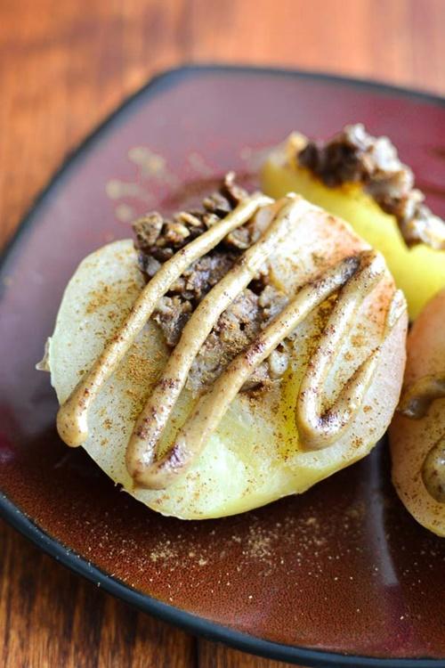 Slow-Cooker Pecan Stuffed Apples