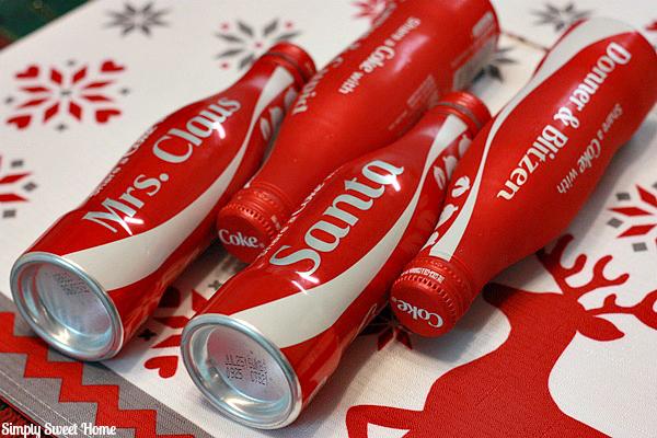 Coca Cola Christmas Bottle.A Coca Cola Holiday And 2 Diy Coke Bottle Christmas Ornament