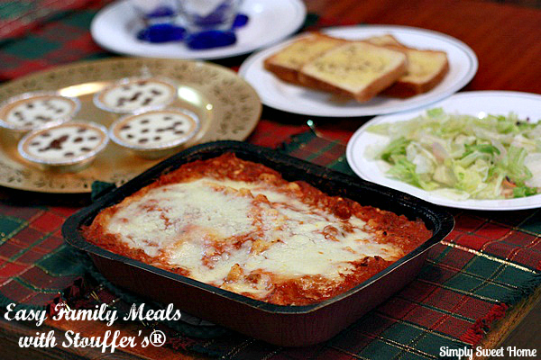 Easy Family Meals with Stouffers