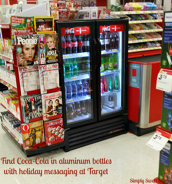 Holiday Cokes at Target