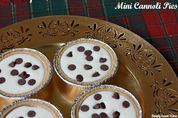 Mini Cannoli Pies