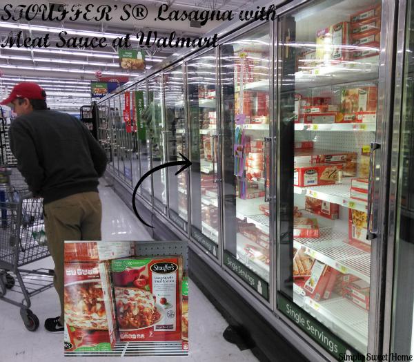 Stouffers at Walmart