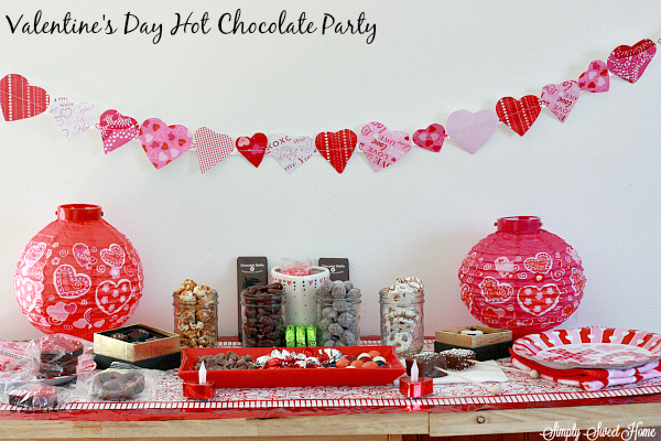 Valentines Day Hot Chocolate Party