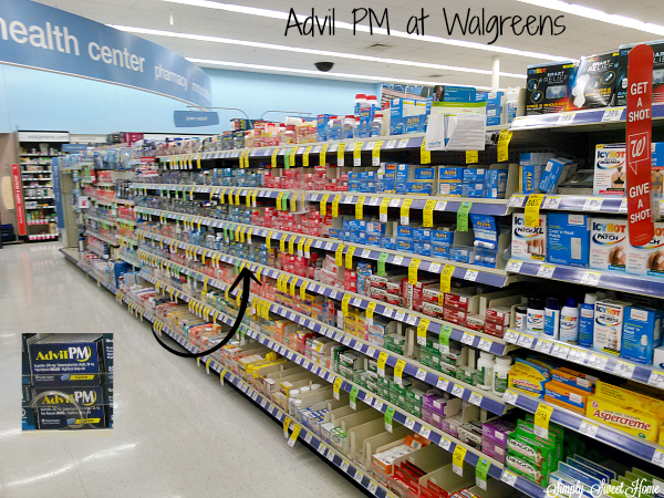 Advil PM at Walgreens