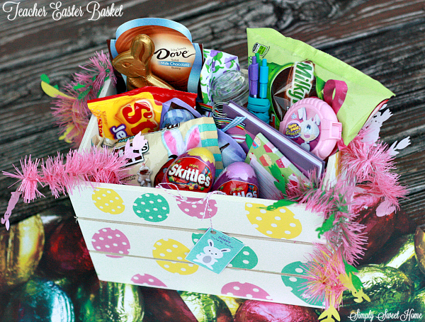 Teacher Easter Baskets