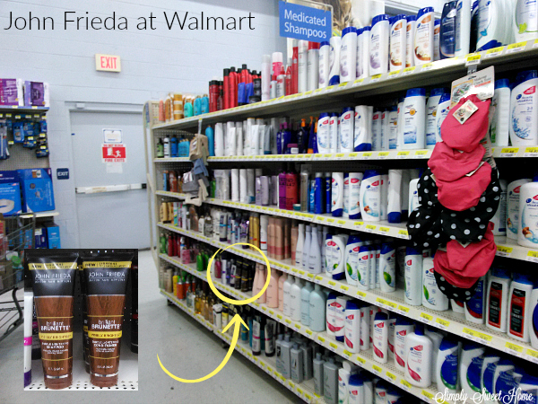 John Frieda at Walmart