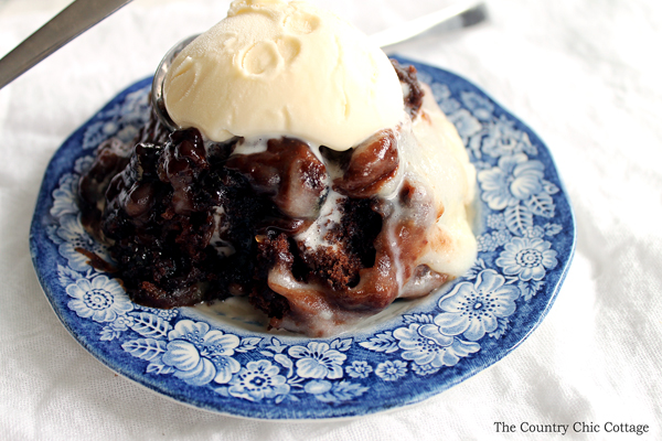 Crock Pot Double Chocolate Lava Cake