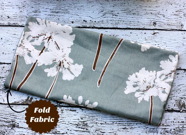 Fold Fabric Over