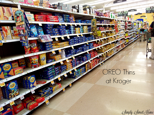 OREO Thins at Kroger