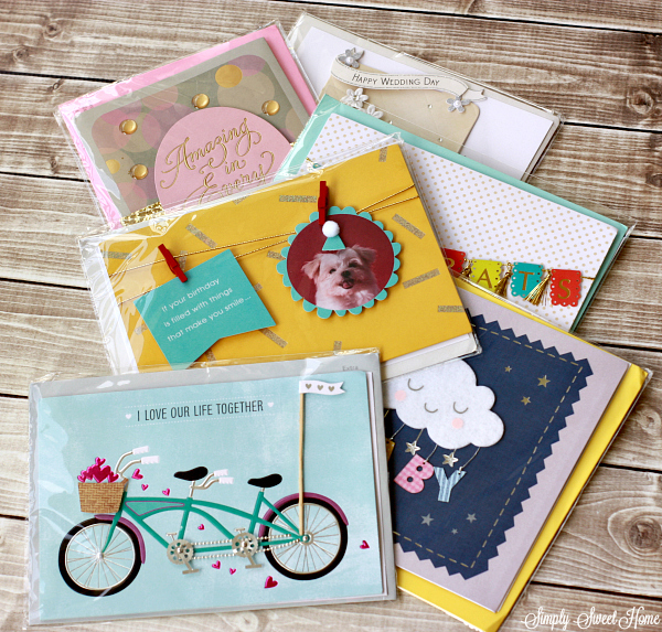 American Greetings Lilypad cards