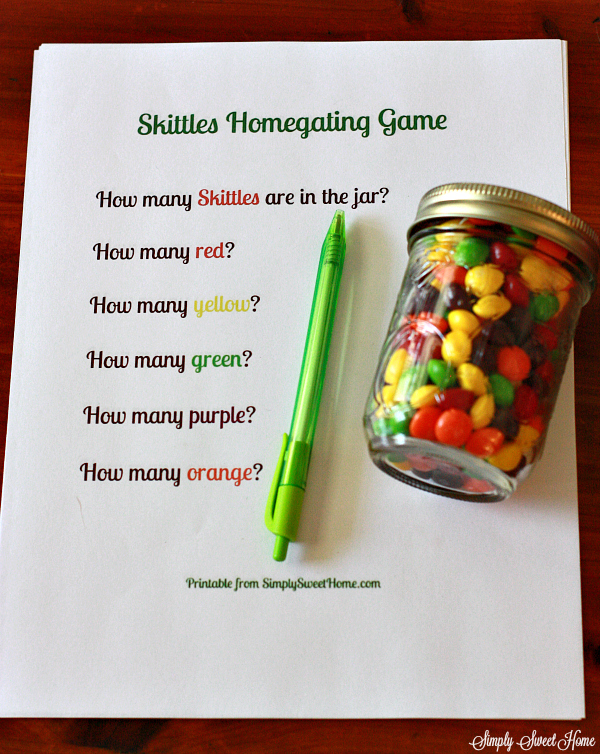 Skittles Homegating Game