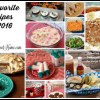 Favorite Recipes 2016