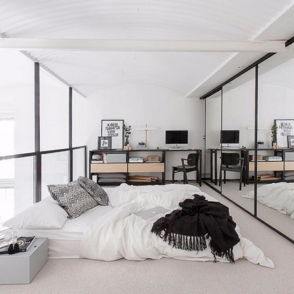 scandinavian bedroom. 22994618910 d3ee66a478 z Sculpt a Scandinavian Bedroom  Simply Sweet Home