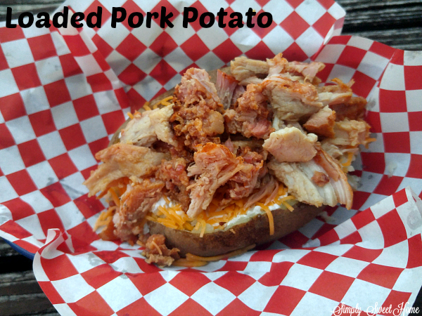 Loaded Pork Potato