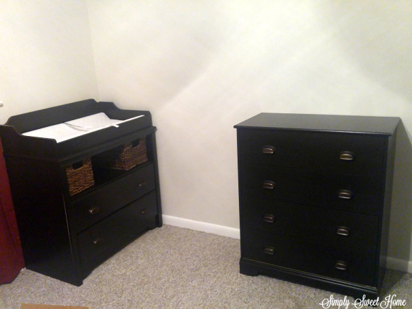 Chest and Changing Table