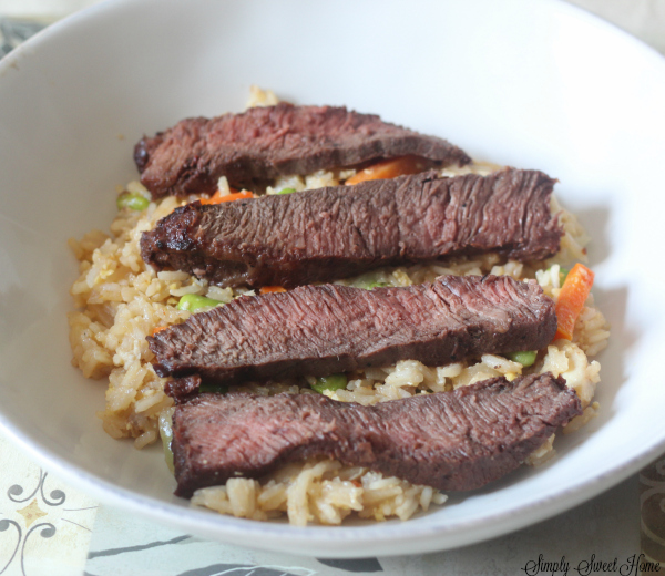 Asian Inspired Steak