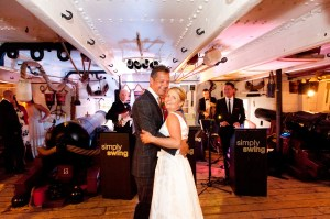 On board HMS Warrior, 1st dance photo by Martin Lewis