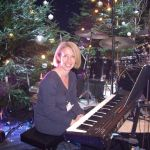 Christmas TV Show Pianist
