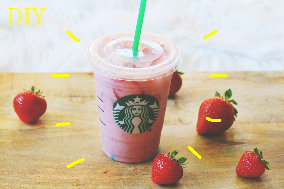 DIY Starbucks Pink Drink!  Vegan, Low Calorie, No Added Sugar!