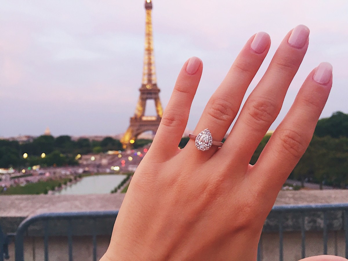 We're Engaged; The Proposal in Paris!