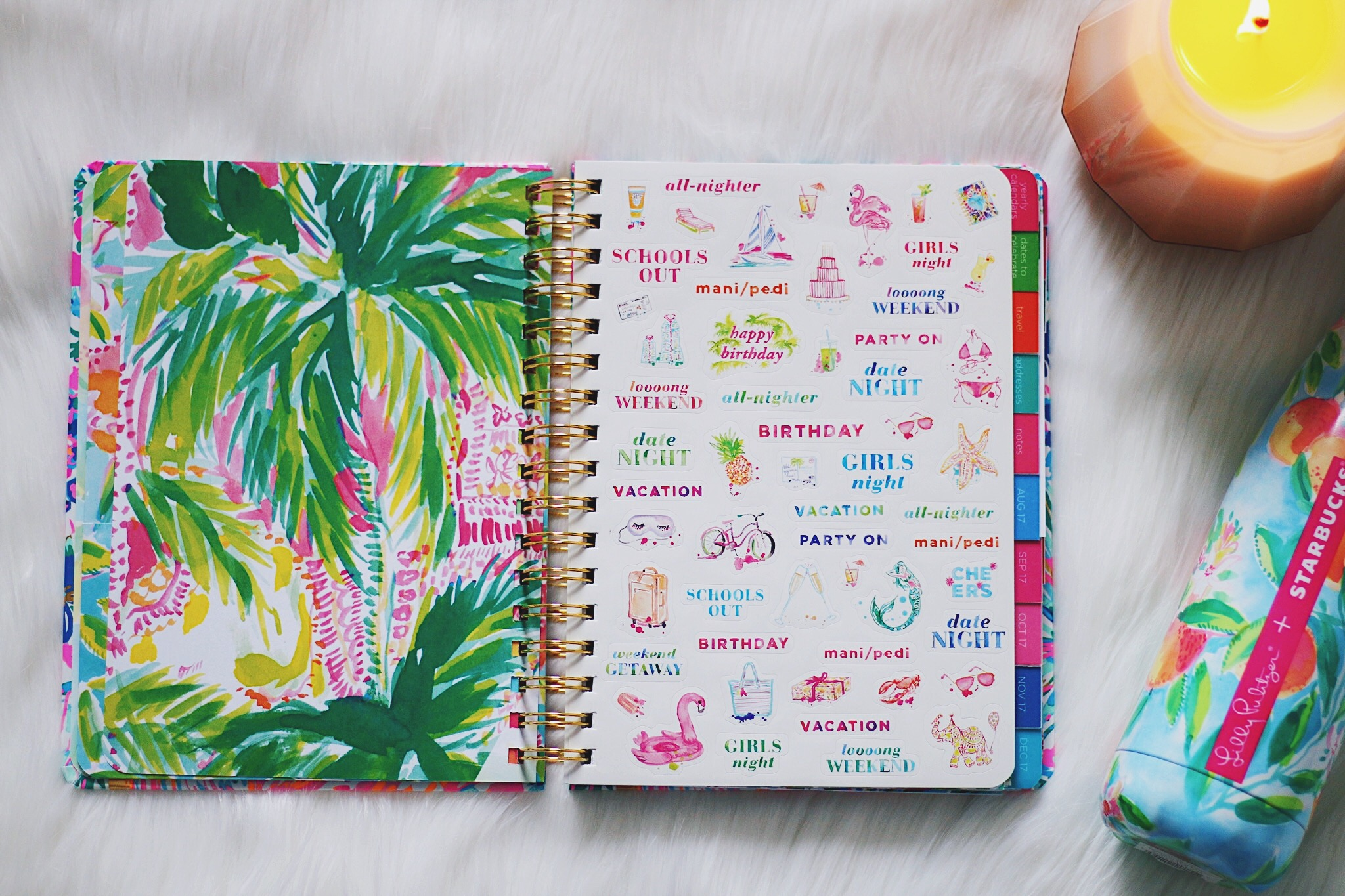 find your perfect planner 2017: lilly pulitzer agenda – simply tess