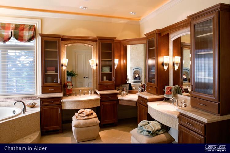 348CC Canyon Creek ceramic and natural stone bathroom