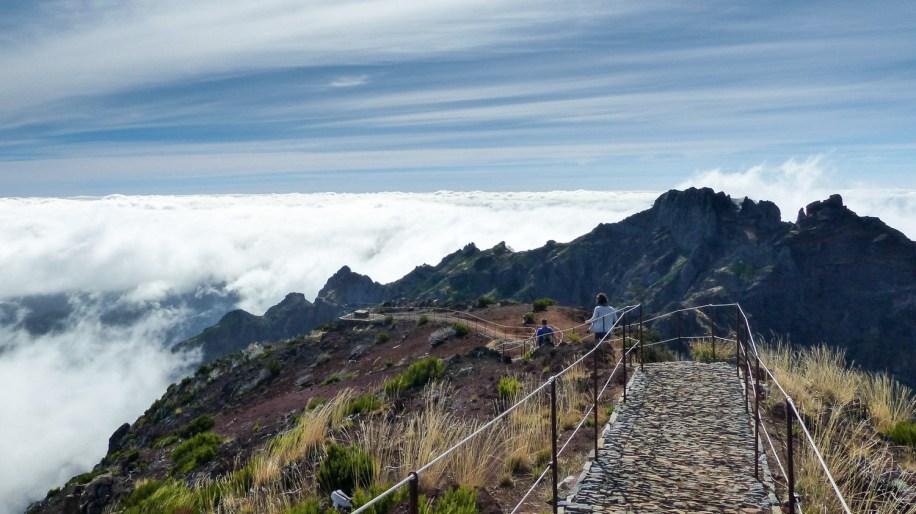Pico Ruivo, Madere