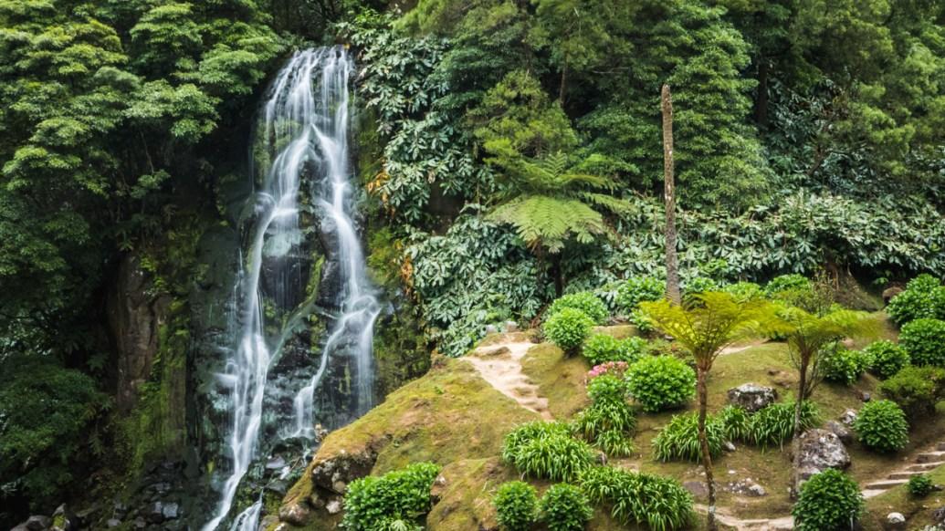 Parque Natural da Ribeira dos Caldeirões, Sao Miguel, Açores