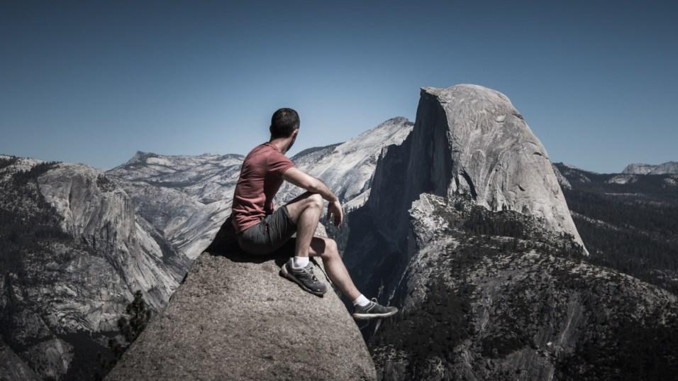 Glacier Point, Yosemite, Californie