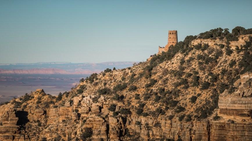 Desert View Watchtower, Grand Canyon, Arizona