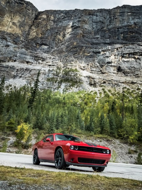 Dodge Challenger, Icefield parkway, Canada