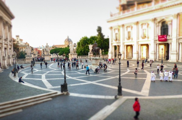 Piazza Venezia, Rome, Italie